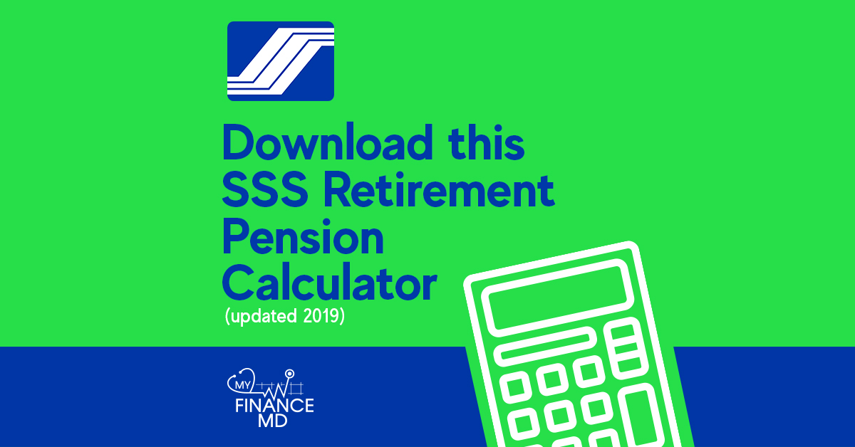 Download This Sss Retirement Pension Calculator Updated 2019 My Finance Md